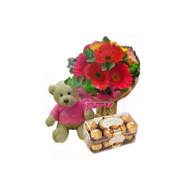 Daisy, Bear and Chocolates